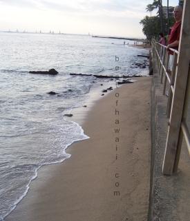 The Beach At Sheraton Waikiki