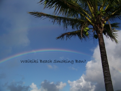 Why A Waikiki Beach Smoking Ban?