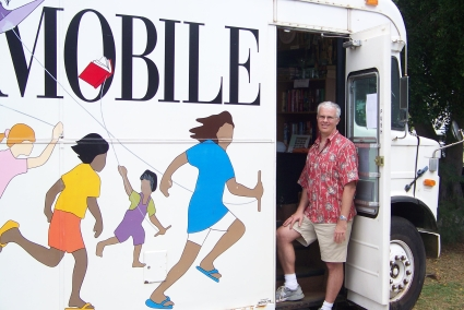 Honolulu's Frugal Bookstore on Wheels