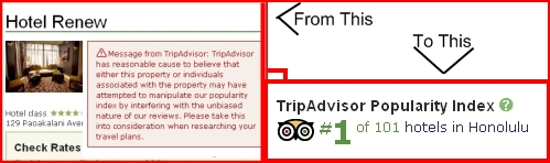 TripAdvisor's Fraud Problems Fixed?