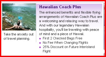 Is Hawaiian's Coach Plus Worth It?