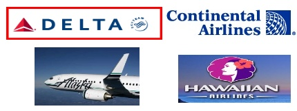 Continental and Delta Dominate New So. California to Hawaii Services