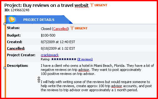 Sophisticated Review Fraud Hits TripAdvisor