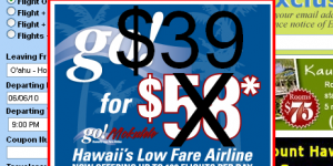 Could Brief $39 Deal Re-Kindle Inter-Island Fare War?