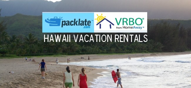 PackLate Adds Hawaii Vacation Rentals