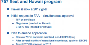 Allegiant Hawaii Plans Postponed Until 2012