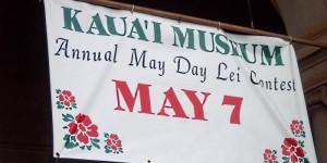Kauai Museum Lei Day 2011 Interlude