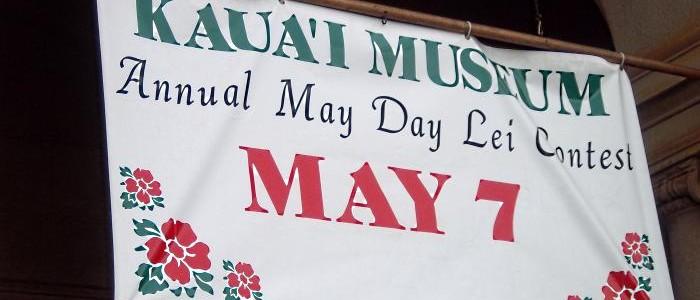 Kauai Museum Lei Day 2011