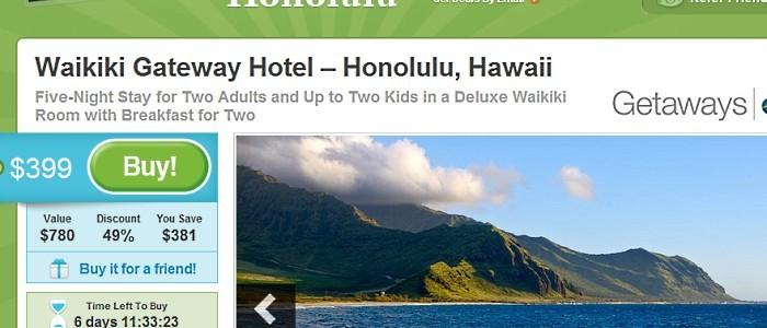 Groupon Expedia Hawaii Travel Deals