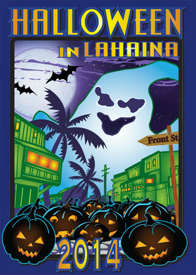 Halloween in Hawaii 2014