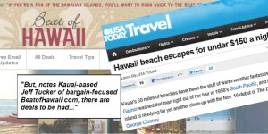Beat of Hawaii in USAToday Travel
