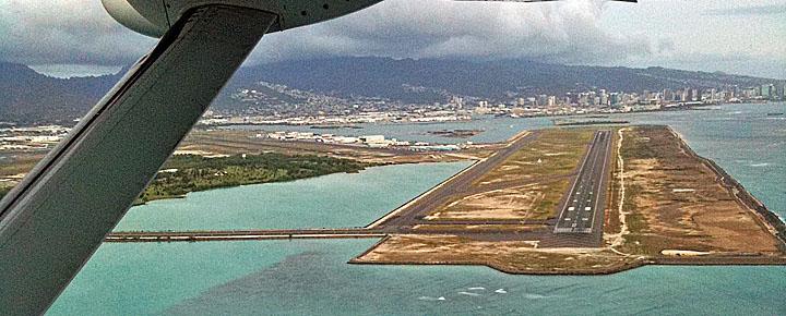 Honolulu Airportreef Runway