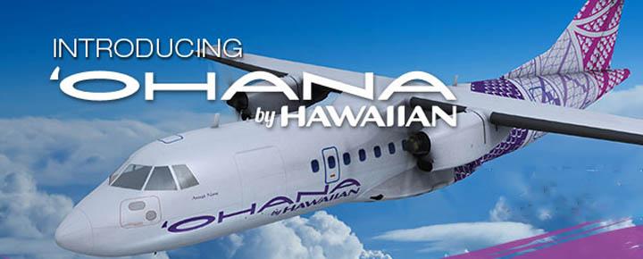 Hawaiian Airlines Ohana ATR-42