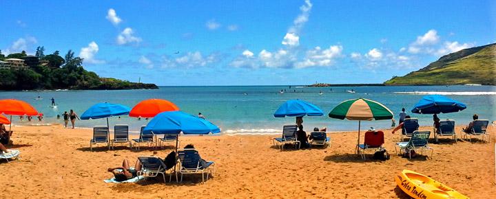 Kalapaki Beach Kauai