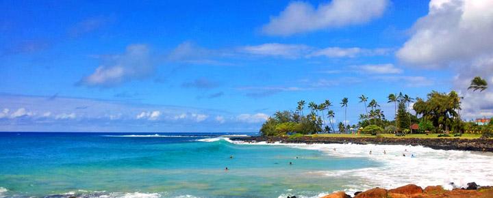 Best Beaches in Hawaii | Poipu Beach Park
