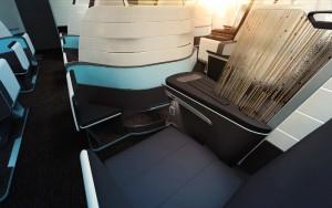 Hawaiian First Class Lie-Flat Seat