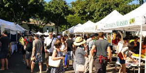 Honolulu Farmers Market at Kapiolani College