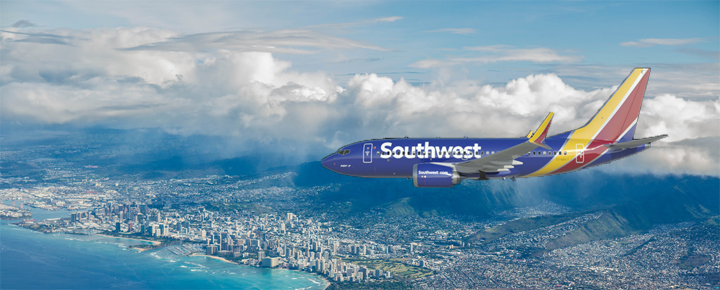 No Southwest Baggage Fees, Seat Assignments on Hawaii Flights