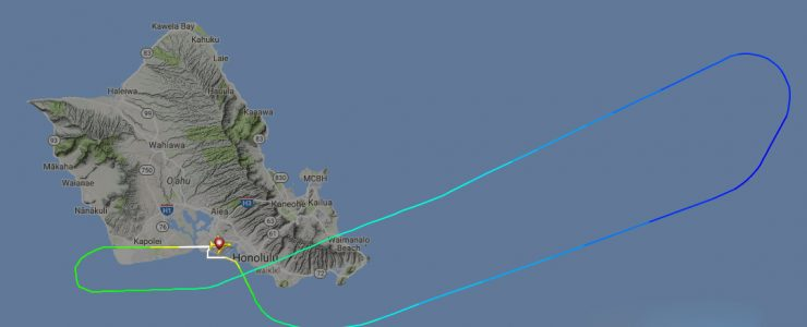 Hawaiian Airlines Flight Aborts