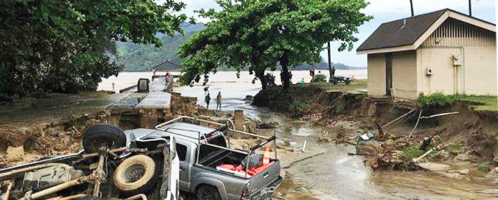 Kauai Flooding at Hanalei