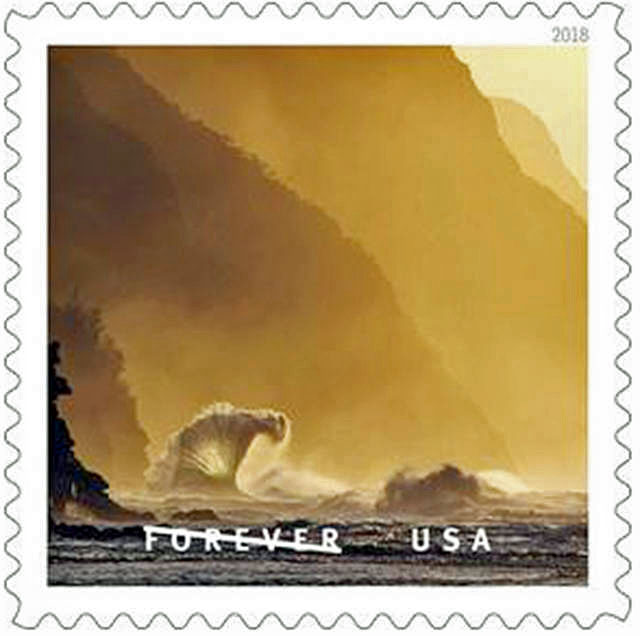 Napali Coast Stamp