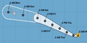 Hawaii Hurricane Douglas Update: C0VID, Shutdown, Now This…