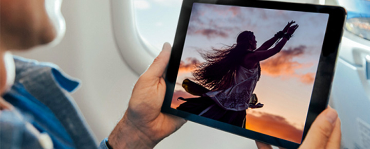 InFlight Entertainment on Flights to Hawaii