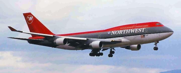Northwest 747 Hawaii