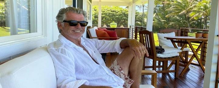 Pierce Brosnan   Celebrities on Kauai
