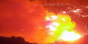 VOG Warning Follows Spectacular Eruption At Hawaii Volcanoes National Park