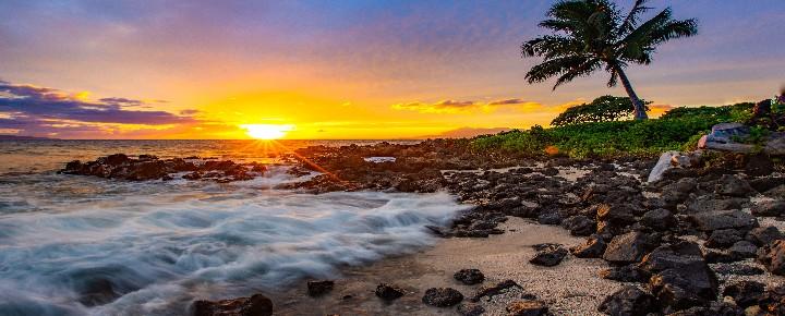 Maui Sunset | Hawaii Vaccine Passports